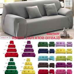 1/2/3/4 Seat L-shaped Recliner Sofa Cover Full Cover Cushion