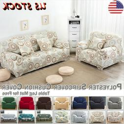 1/2/3/4 Seater Sofa Slipcover Furniture Couch Protector Elas