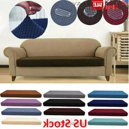 1-4 Seat Washed Waterproof Sofa Seat Cushion Cover Couch Str