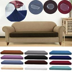 1-4 Seats Waterproof Sofa Seat Cushion Cover Couch Stretchy