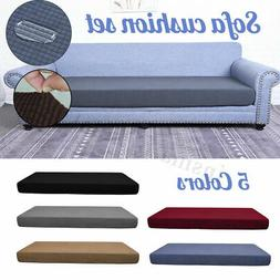 1/4 Seats Waterproof Stretchy Sofa Seat Cushion Cover Couch