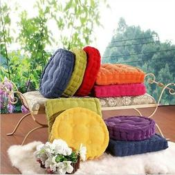 "15.7"" Round / Square Home Garden Patio Seat Cushion Office C"