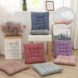 15.8in Soft Square Cotton Seat Cushion Home Garden Outdoor C