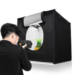 "16"" x 16"" LED Light Photography Soft Box Shooting Tent Photo"
