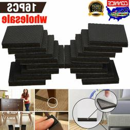 16pcs Non Slip Felt Pads For Furniture Floor Protectors Tabl