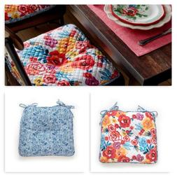 """17"""" x 16"""" Chair Cushion Dining Chairpad Seat Reversible Home"""