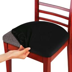 2/4/6Pcs Elastic Chair Seat Cover Stretch Cushion Slipcover