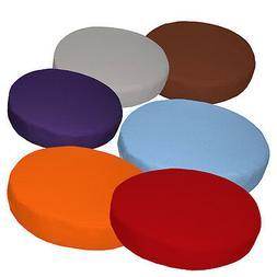 "2""Thick-Round Box Shape Cover*A-Grade Cotton Canvas Chair Se"