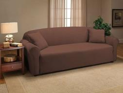 3-Seat Couch Stretch Separate Sofa Slipcover Back Cushion Ch