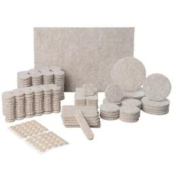343 Piece Non Slip Felt Furniture Pads Hardwood Floors Tile