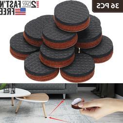 36PCS Non Slip Felt Pads For Furniture Floor Protectors Tabl