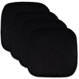 "4 Pack Best Memory Foam Honeycomb Nonslip Back 16"" X16"" Chai"