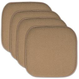 Sweet Home Collection 4 Pack Memory Foam Honeycomb Nonslip B