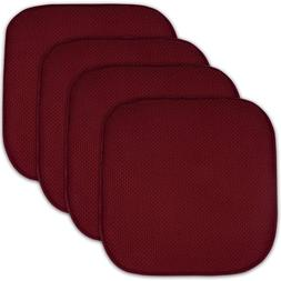 4 pack memory foam honeycomb nonslip back