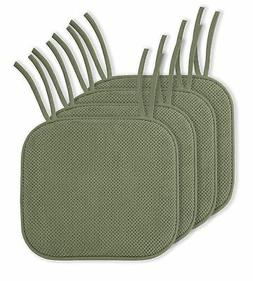 4 Pack: Ellington Home Non Slip Memory Foam Seat Cushion Cha