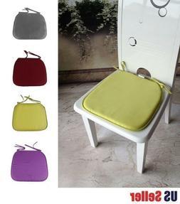 4 pcs Home Office Kitchen Patio Chair Seat Pad Mat Cushion C