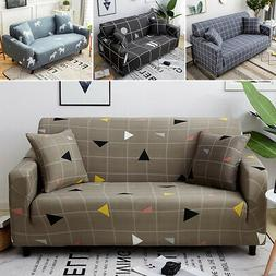 4 Seats Universal Sofa Couch Cover Corner Elastic Stretch Sl