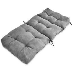 "44"" High Back Chair Cushion Tufted Pillow Indoor Outdoor Swi"