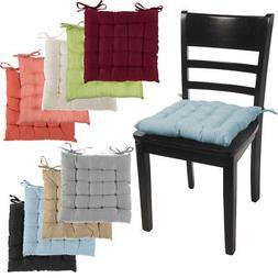 4pk Dream Home Chair Pads Square Tufted Cushion Seat Cushion