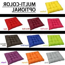 4x Home Office Soft Chair Seat Cushion Pad Floor Mat Garden