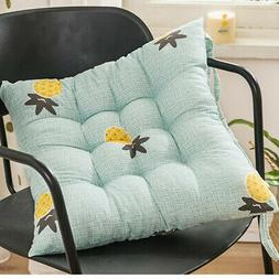 4x Indoor Outdoor Garden Patio Chair Seat Pad Cushion Tie on