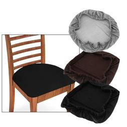 4x Stretch Seat Chair Cushion Cover Protector Bar Stool Pads