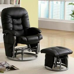 Coaster Fine Furniture 600227 Glider with Ottoman