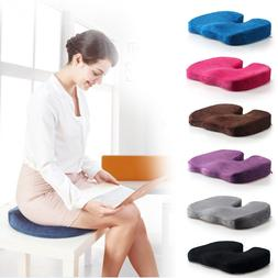 60D Office Memory Foam Seat Cushion by MemorySoft Perfect fo