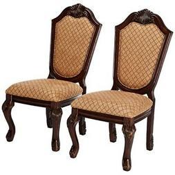 Acme Furniture 64077 Chateau de Ville Espresso Side Chair