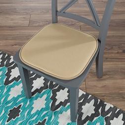 Lavish Home 82-TEX1045TN Memory Foam Chair Cushion-Square x