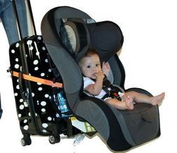 Go-Go Babyz Travelmate Car Seat Luggage Strap, Orange, One S