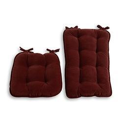 Greendale Home Fashions Jumbo Rocking Chair Cushion, Cheroke