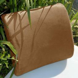New Lumbar Cushion Back Support Travel Pillow Memory Foam Ca