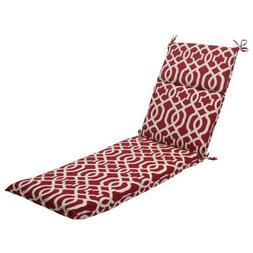 Pillow Perfect Indoor/Outdoor New Geo Chaise Lounge Cushion,