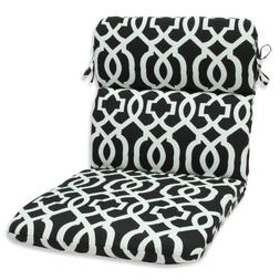 Pillow Perfect Outdoor New Geo Rounded Corners Chair Cushion