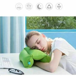Air Inflatable Travel Pillow Neck Back Seat Cushion Rest Arm