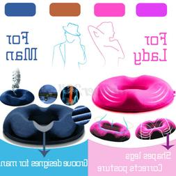 Anti Hemorrhoid Donut Seat Cushion Lift Hip Orthopedic Seat