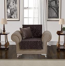 Chiara Rose Acacia Armchair Slipcover 1 Seat Sofa Cover 1 Pi