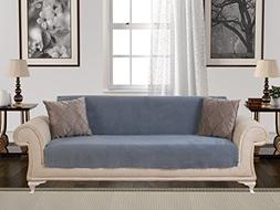 Chiara Rose Anti-Slip Armless 1-Piece Sofa Throw Slipcover f