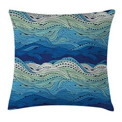Ambesonne Aquatic Throw Pillow Cushion Cover by, Conceptual