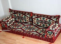 Arabic Floor Seating Sofa Oriental cushions Turkish Couches