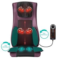Naipo Back and Neck Massager Shiatsu Massage Chair Seat Cush
