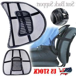 Back Support Lumbar Cushion Pain Relief Car Seat Chair Offic