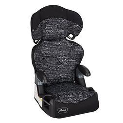 Evenflo Big Kid AMP High Back Booster Car Seat, Static Black