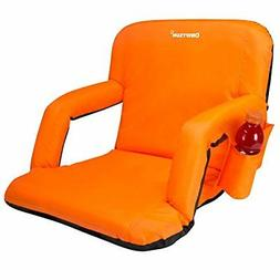 Bleacher Seats With Backs Stadium Cushion PINK Recliner Chai