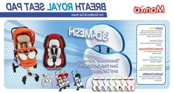 Manito Breath Royal Plus 3D Mesh Seat Pad/Cushion/Liner for