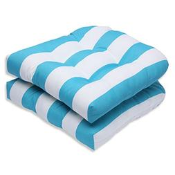 cabana stripe wicker seat cushion