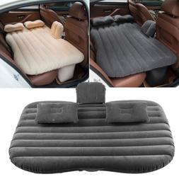 Car Air Bed Inflatable Mattress Back Seat Cushion Pillows Fo