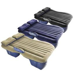 Car Air Bed Inflatable Mattress Seat Cushion w/ Pillows Trav