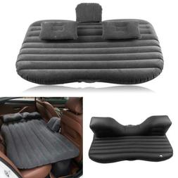Car Air Sleeping Bed Inflatable Mattress Travel Back Seat Cu